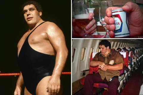 The boxer champion broke the world record by drinking 73 liters of beer