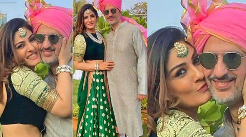 Once engaged in a temple with Akshay, now she is seen being romantic with her old husband