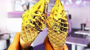 What do you know about 24 Carat Gold ice cream