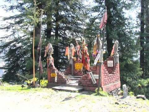 Temple of India where parts of vehicles are offered