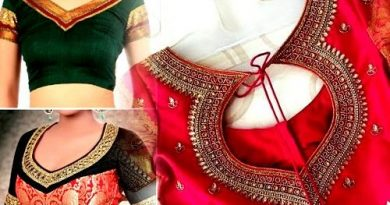 Wear blouse with plain saree, these designs