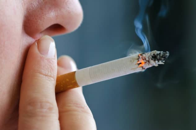 What happens if you smoke 2 cigarettes a day