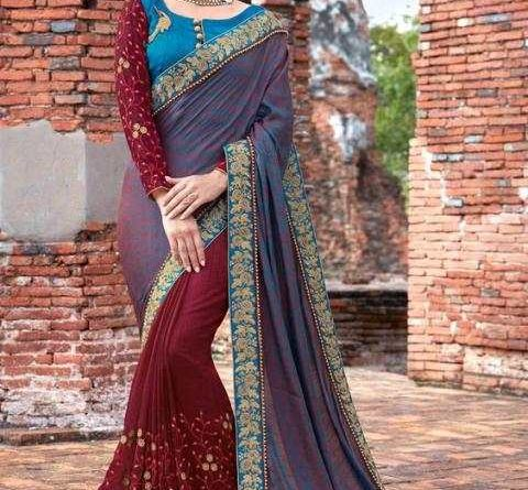 Such beautiful saris are the first choice of married girls