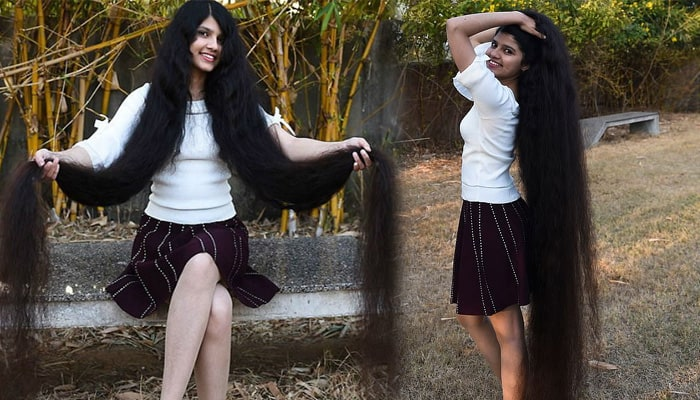 This 17-year-old girl has the longest hair in the world, knows the secret of 6 feet 3 inches long hair