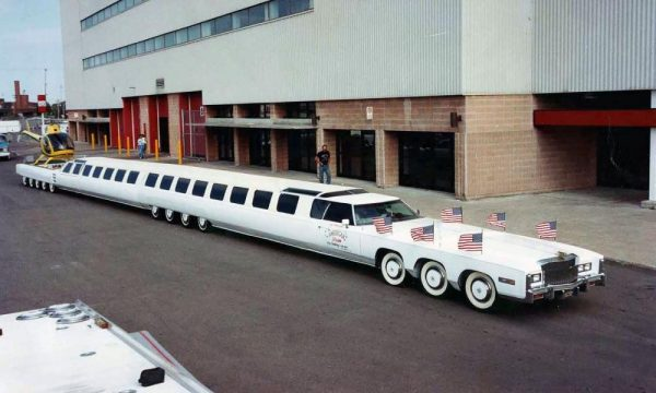 These are the world's largest cars, there is also a swimming pool to helipads.