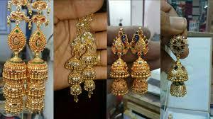 Rajasthani Designer Jhumki Earring Designs