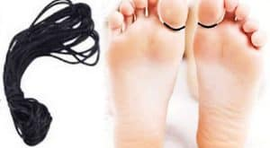 Tying a black thread in the toe ends this disease from the root.