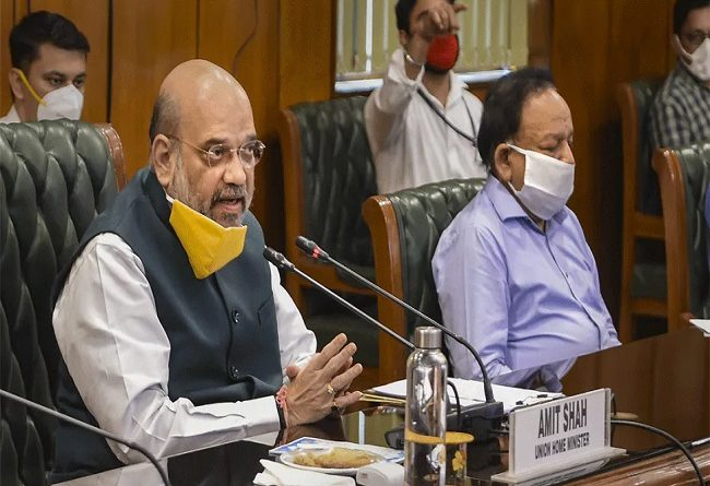 Amit Shah's announcement on deteriorating situation in Delhi, Corona testing will be increased three times