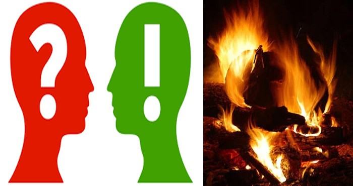 Do you know which part of the body that does not burn even in fire?