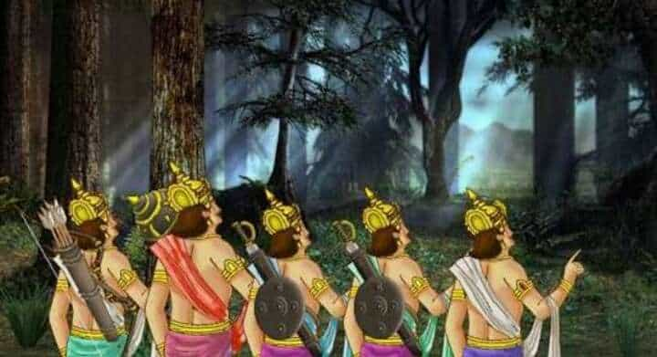 Why did the Pandavas eat the flesh of their father's body, know the secret of this amazing incident of Mahabharata