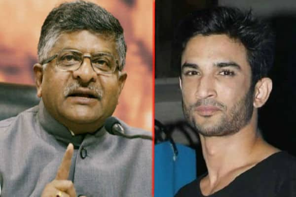 After meeting Sushant's family, Ravi Shankar Prasad wrote - Why did you leave