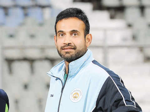 Irfan Pathan says that after his bowling pace, now his life has also slowed down
