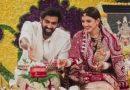 अभिनेता राणा दग्गुबाती और मिहिका बजाज की पूजा करतें वक्त की फोटो सोशल मीडिया पर तेज़ी से वायरल