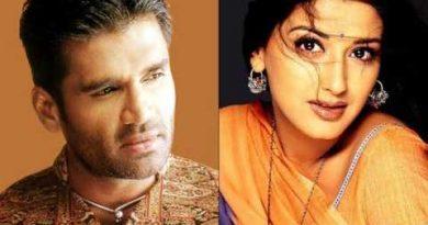 सुनिल शेट्टी और सोनाली बेंद्रे की प्रेम कहानी क्यो रही अधूरी