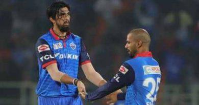 आईपीएल 2020: डीसी ट्रेनिंग सेशन के दौरान ईशांत शर्मा को लगी चोट