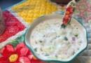 पकाने की विधि: गर्मी के मौसम में फायदेमंद है प्याज और खीरे का रायता