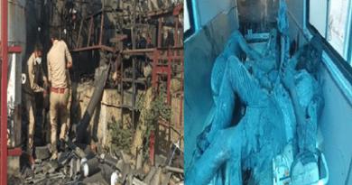 उत्तर प्रदेश: ऑक्सीजन की कमी के बीच यूपी के लखनऊ में  हुवा बड़ा हादसा