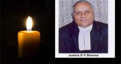 राम जन्मभूमि विवाद पर फैसला सुनाने वाले जज डीवी शर्मा का हुवा निधन